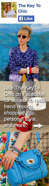 Like The Key To Chic on Facebook
