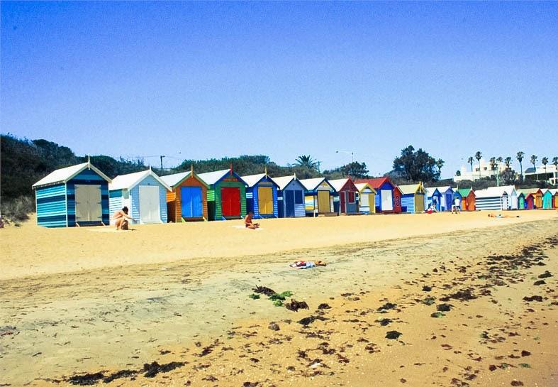 Days of Summer: Brighton x St Kilda Beach | Amie Hu