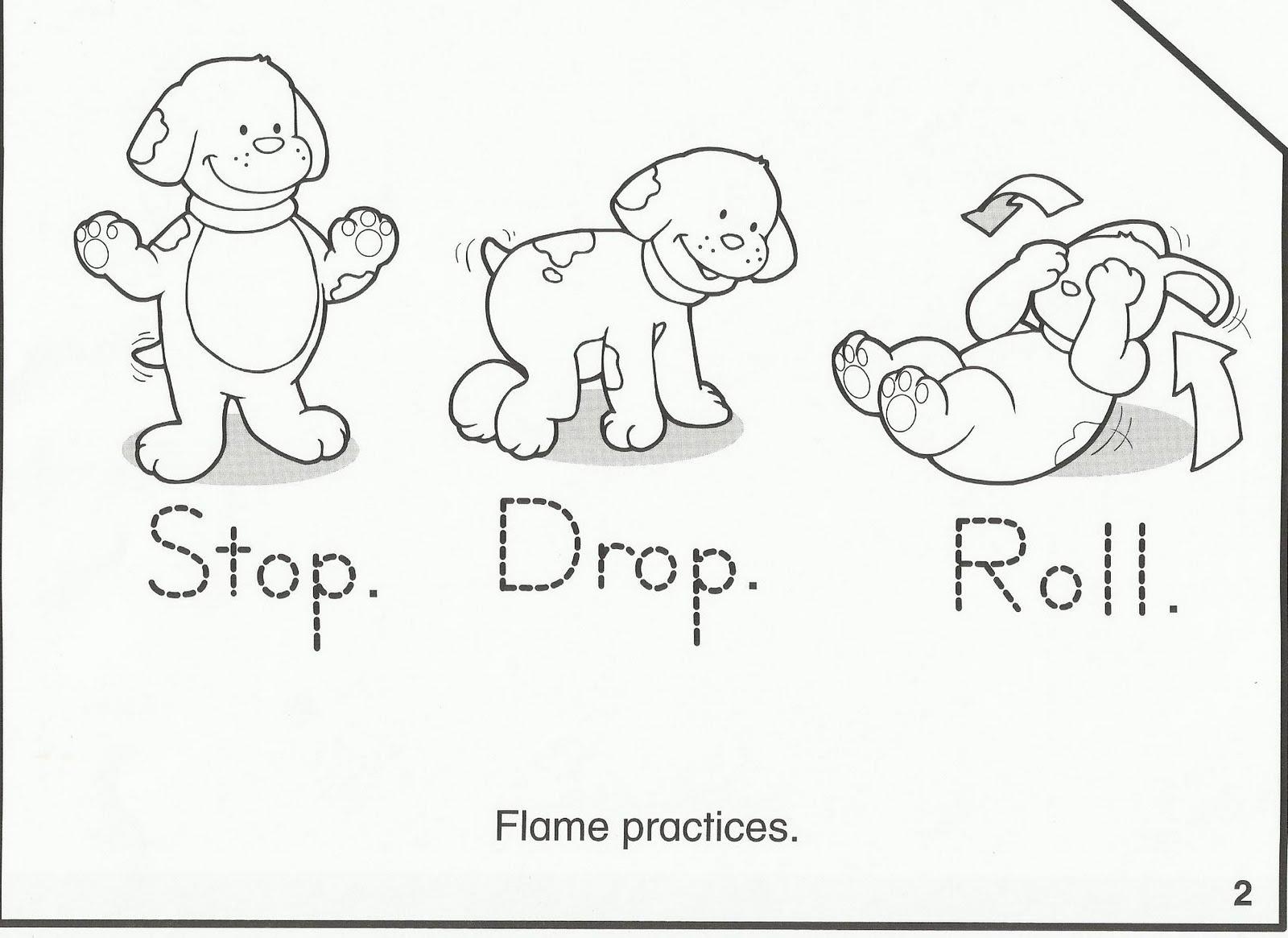 Fire Safety Worksheets – Firefighter Worksheets for Kindergarten