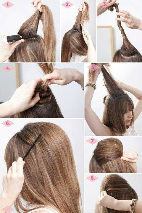 Fashion Hairstyles: How To: Everyday/Holiday Hairstyle