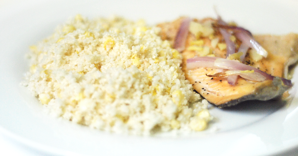 Our Earth Land: Cauliflower 'Rice' With Fish