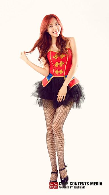 Foto Terbaru Hyomin Dari Aplikasi Official T-ara di Android