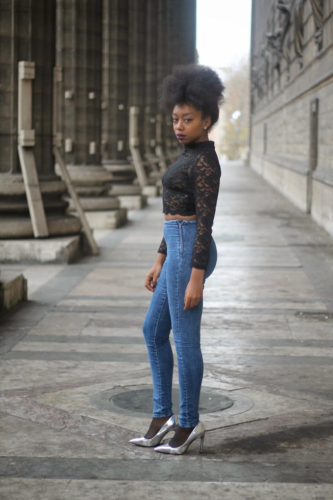 Slim Taille Haute H&m Jean Slim Taille Haute H&m