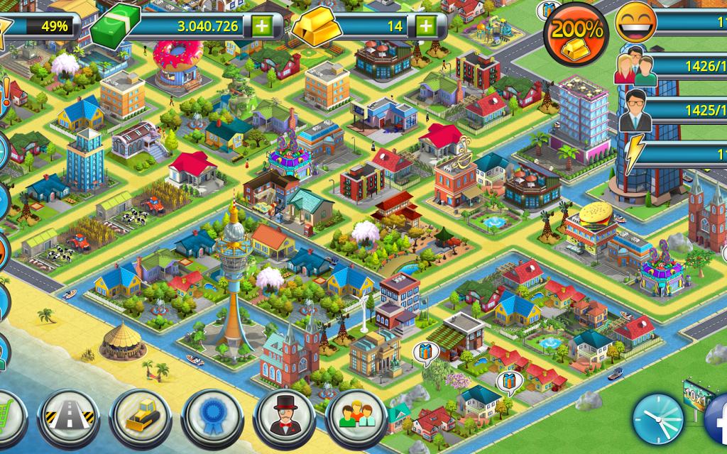 download game city island mod