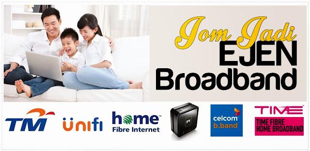 jadi ejen broadband agent tm unifi maxis streamyx time p1 celcom peluang pendapatan internet broadband hsbb bajet 2014 hsbb2 seluruh negara