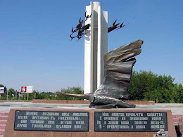 """Памятник """"Журавли"""" в Узбекистане"""