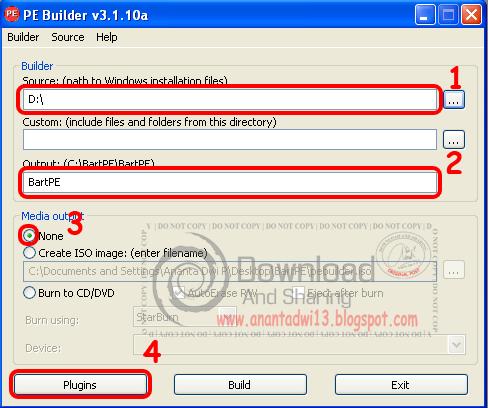 Cara Membuat Windows XP Live Flashdisk dengan PEBuilder