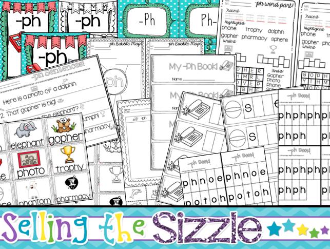 http://www.teacherspayteachers.com/Product/-ph-Digraph-Activities-1186520
