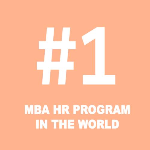 #1 MBA HR Progam