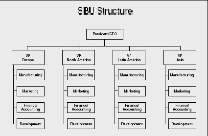 sbu structure of mcdonald s Kodak, from top to nothing: how organization structure affects its ability to adopt market demand by: ahmad alkhatib issue: strategies of organization nowadays is.