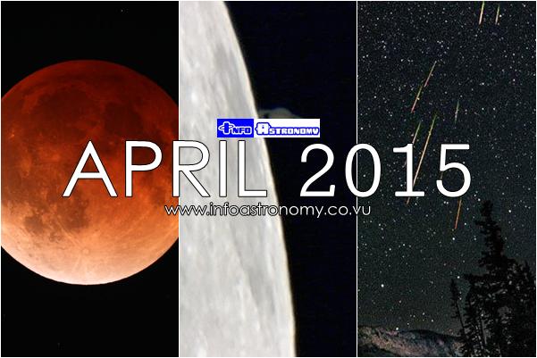 Wajib Lihat! Inilah Peristiwa Astronomis Sepanjang April 2015