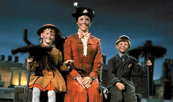 banks mary poppins chimney sweep song step in time name scene