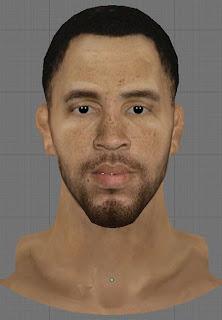 NBA 2K13 Tayshaun Prince Cyberface Patch