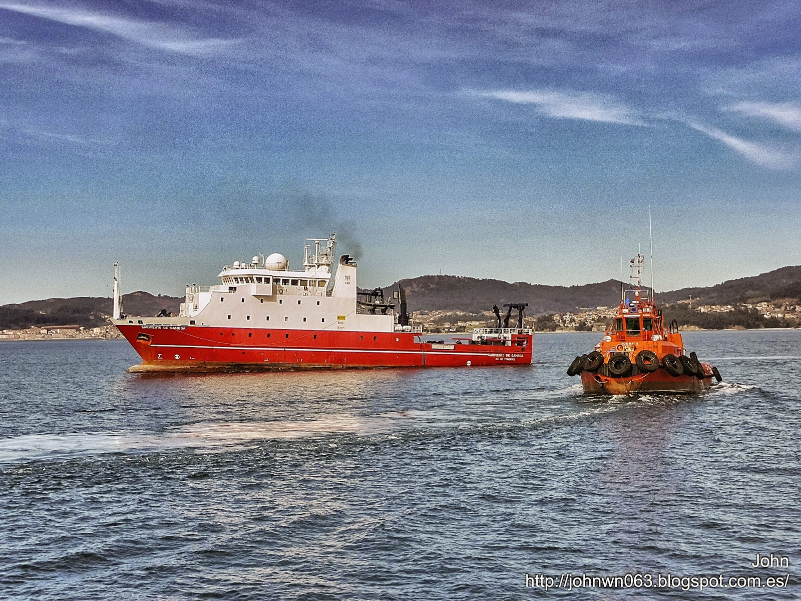 fotos de barcos, imagenes de barcos, sarmiento de gamboa, oceanográfico, vigo