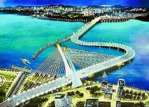 jambatan bengkok
