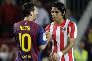 Messi y Falcao García unidos por una buena causa