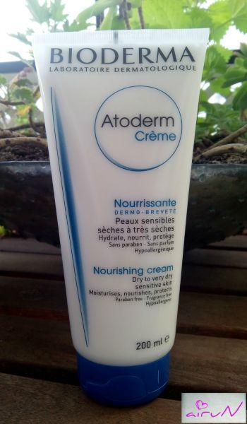 atoderm crema bioderma hidratación piel