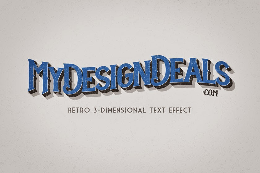 How to Create a Retro Text Effect in Photoshop