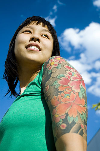 sleeve tattoos for girls. Sleeve Tattoo Design For Girls