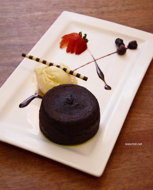 Chocolate Volcano Lava Cake - RM17