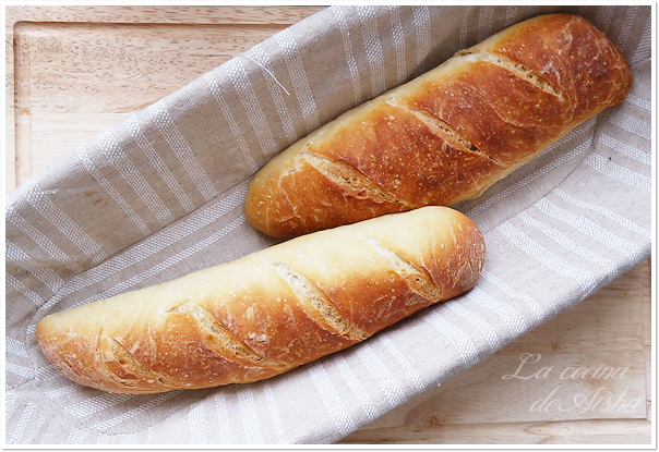 Baguette (francesa) - Bake the World Mayo 2013