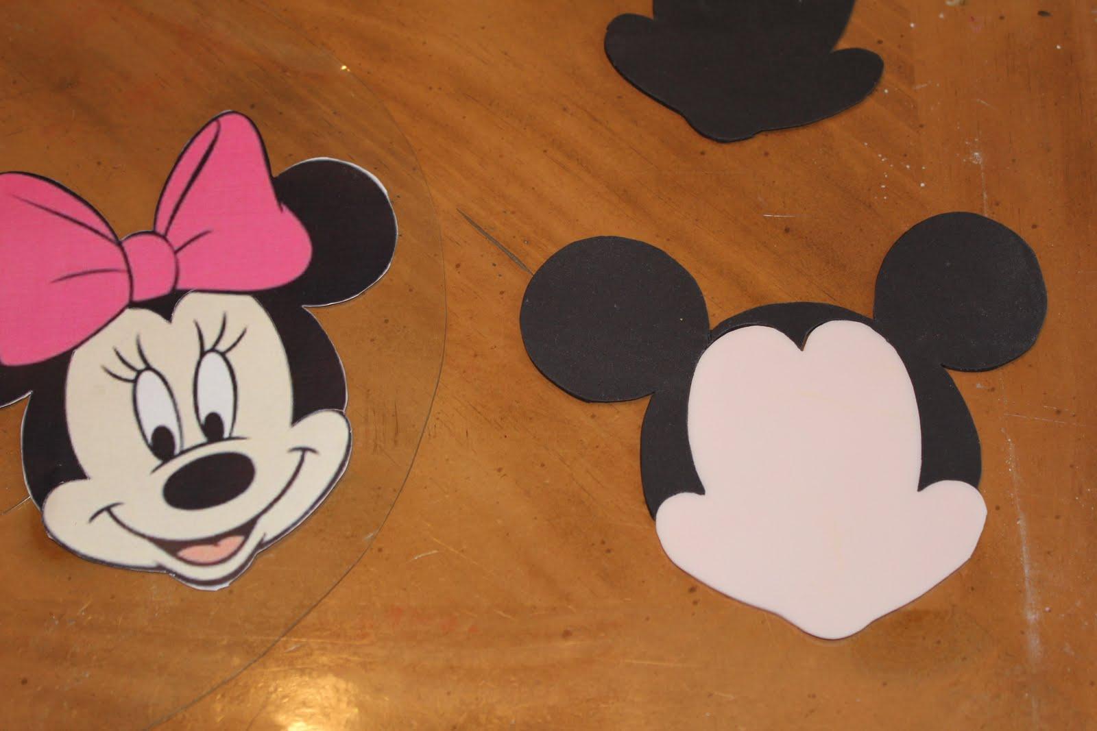 Cake Minnie Mouse Template : Arenita Cupcake: Minnie Mouse Cake