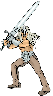 Sword Man Free Fantasy Clipart