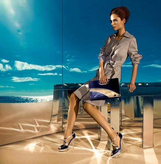 2011 Tergan Yazlık Ayakkabı ve Çanta Modelleri