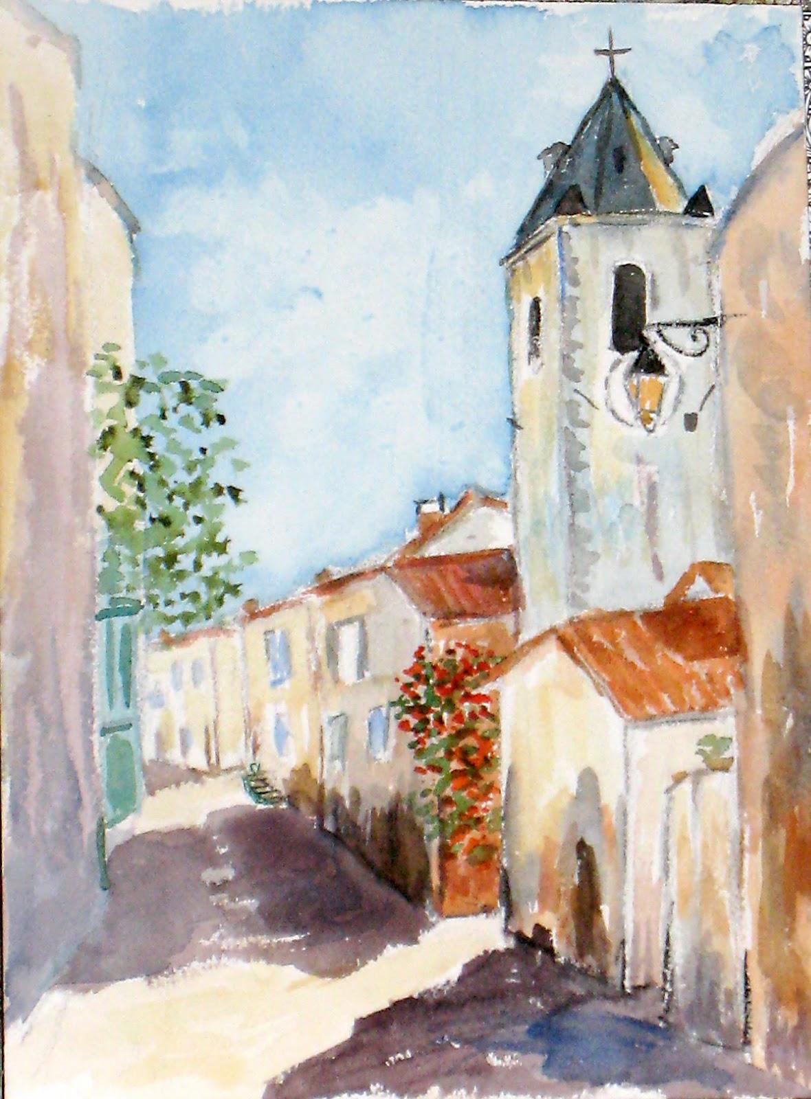 Art de vivre la peinture de peintrefiguratif peinture for Peindre sur du badigeon