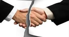 Rescisión de contratos