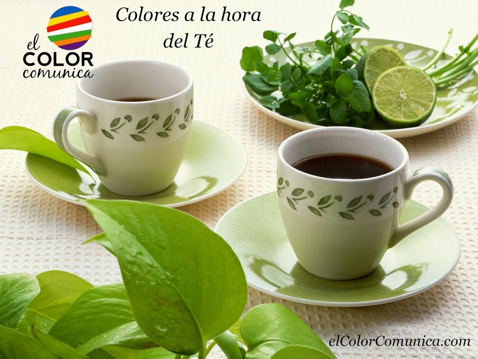 colores a la hora del Té