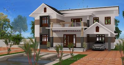evens construction pvt ltd beautiful elegant home design