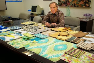 Dick Gentry, Gentry Collection, fabric, textiles yarns