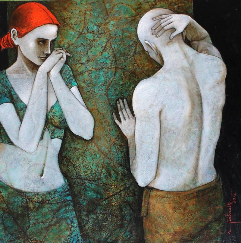 Asit Kumar Patnaik Indian Painter