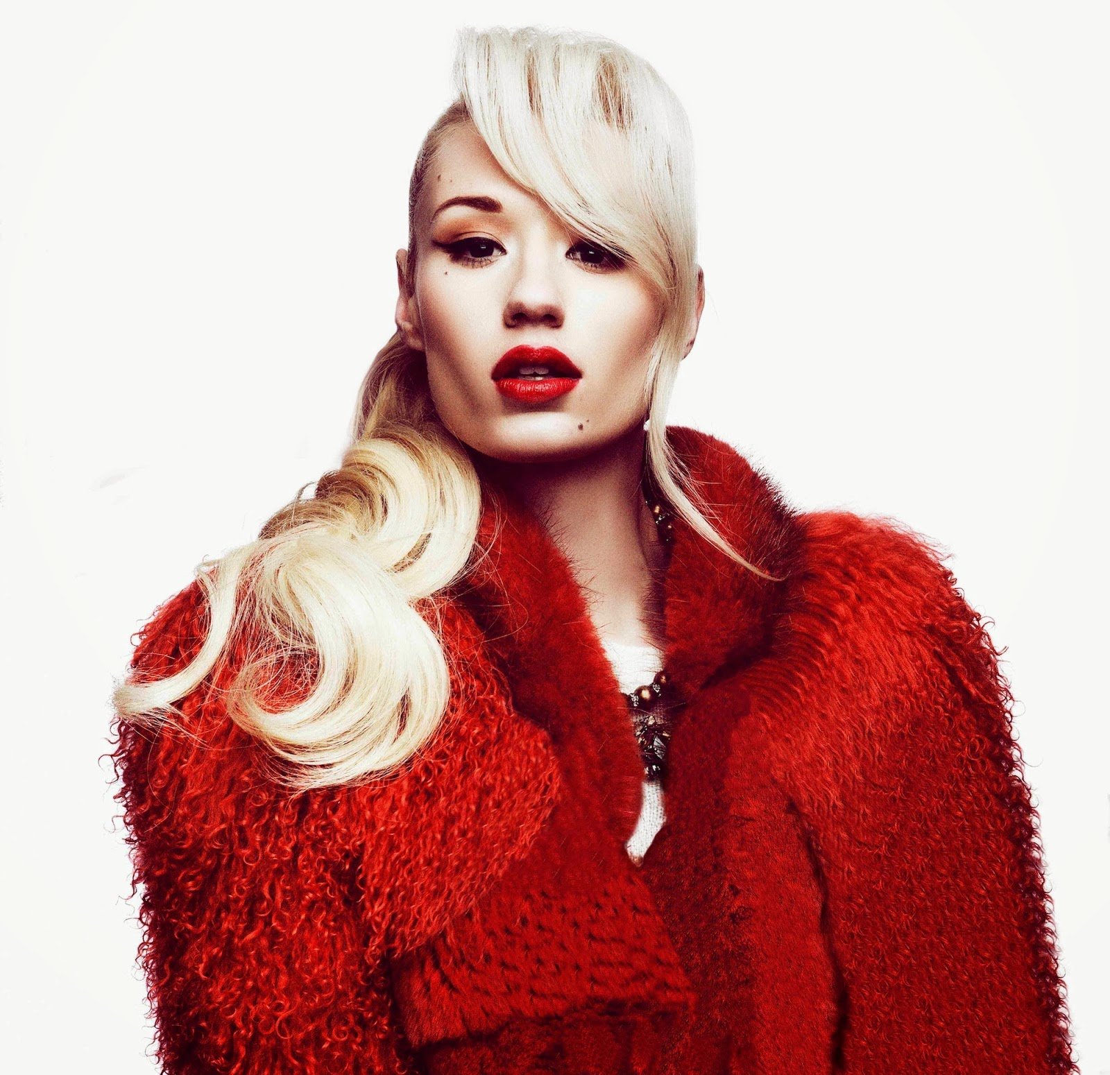 Iggy Azalea Beatles US chart records