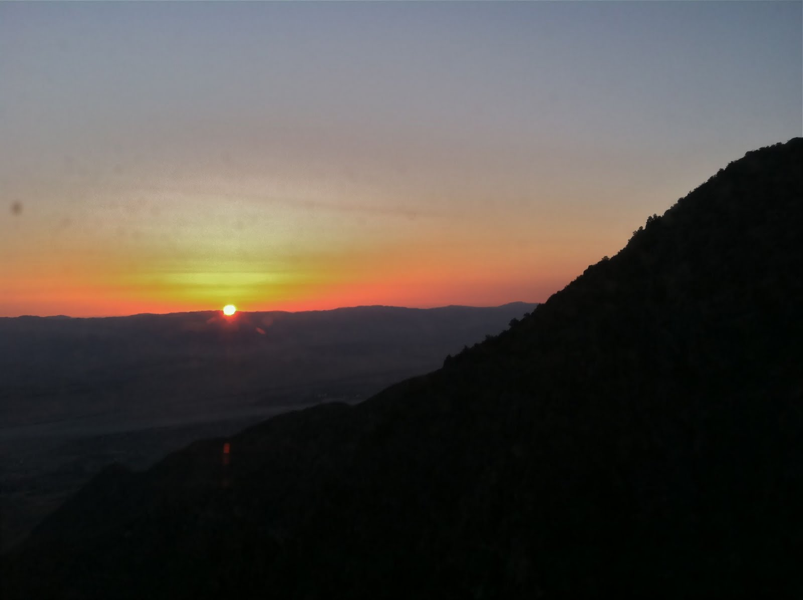 Sunrise from Mountain