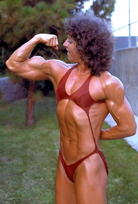 80's Female Muscle: Pillow