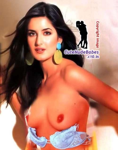 Katrina Kaif Nude Boobs Photo-Fake free