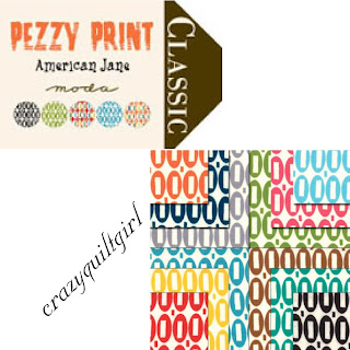 Moda PEZZY PRINT Quilt Fabric by American Jane