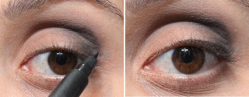 6 Tutorial de Maquiagem: sombra preta para o dia!