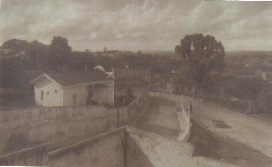 Igreja N.S. do Carmo de Barbacena MG vista pelos fundos