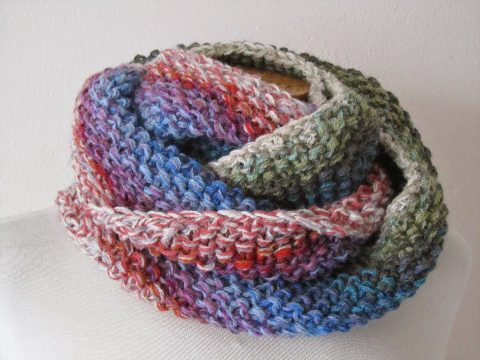 Infinity Cowl from Scraps