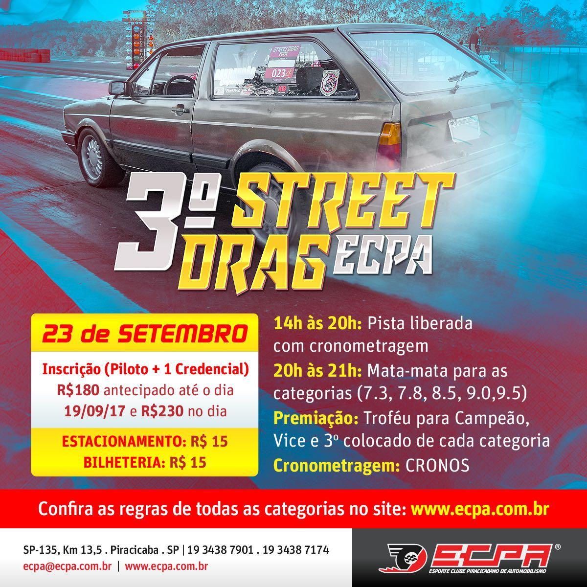 3° STREET DRAG ECPA