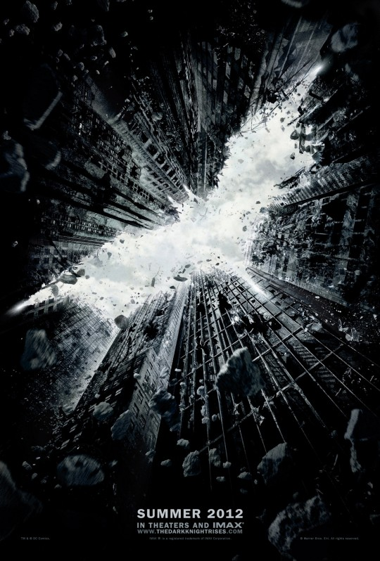 batman the dark knight rises official poster