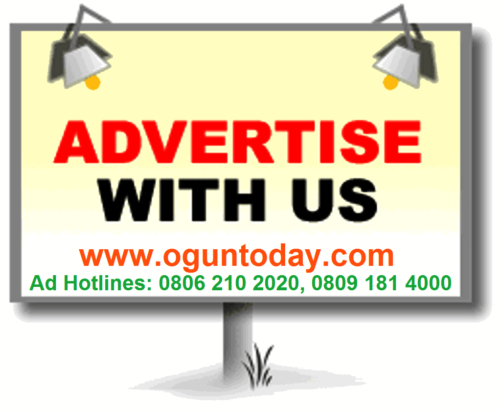 Advertise on Ogun Today