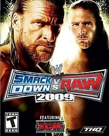 wwe smackdown vs raw 2009 roaster