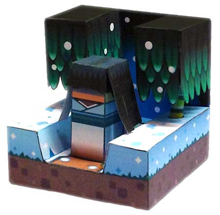 Yuki-onna Papercraft