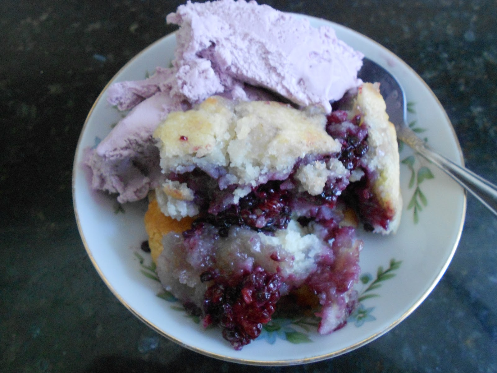 The Moonlight Factory: Black Raspberry Cobbler