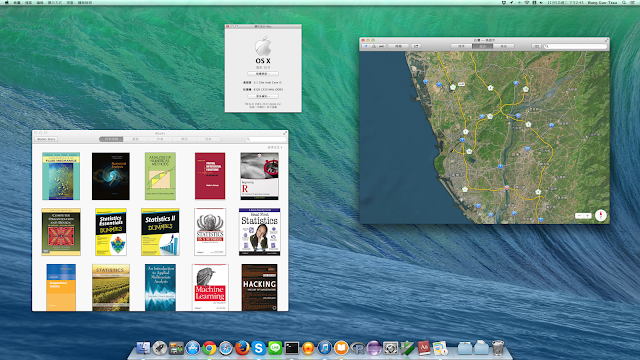 OS X Mavericks 桌面
