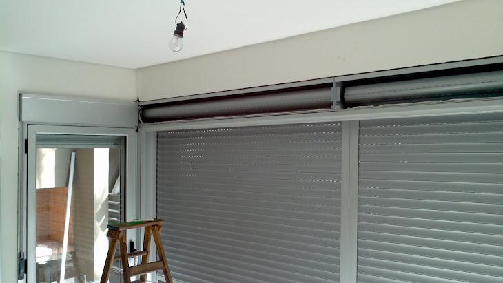 Persianas aluminio cajon compacto obra nueva